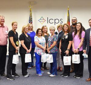 Lenoir County Public School Nurses, delivered on May 4, 2021